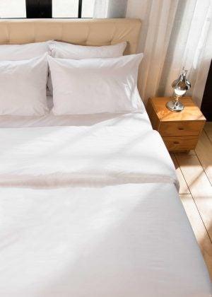 sabana polialgodon blanco, linea hotelera