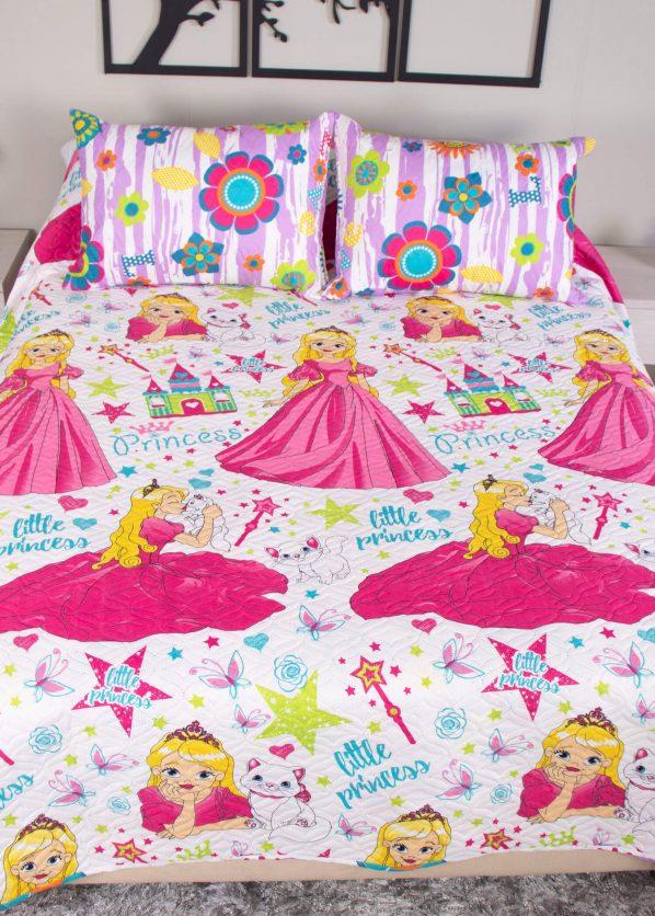Sobrecama, colcha, cubrecama, tendido infantil, princesa decorar cuarto bebe niño niña