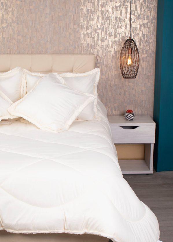 Edredon, comforter, ovejer cobija sherpa
